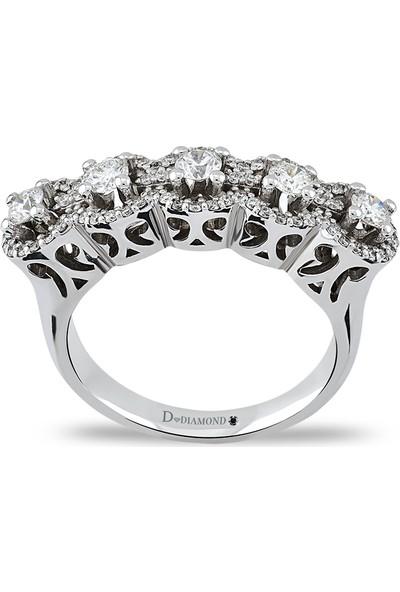 D Diamond 0,69 Karat Pırlanta Altın Yüzük