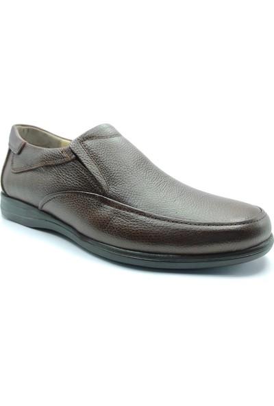 Artmen Hakiki Deri Kahverengi Makosen Erkek Comfort Günlük Ayakkabı 1030200