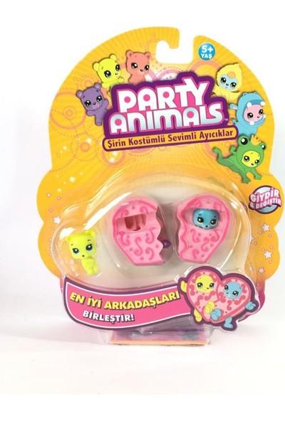 Samatlı Party Animals 3'lü Figür Set - 60725