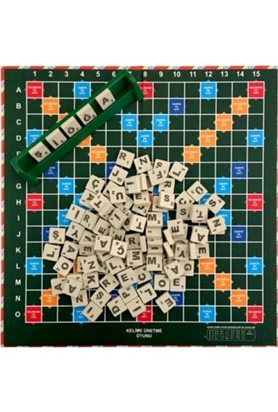 Osman Kızılkaya Kelime Üretme Oyunu - Scrabble Muadili