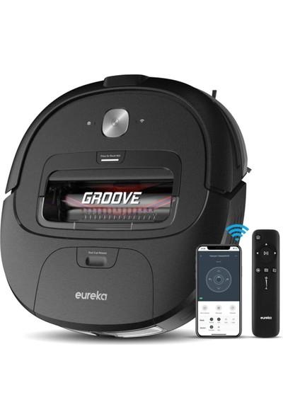 Eureka Groove Robot Süpürge, Wi-Fi Bağlantılı