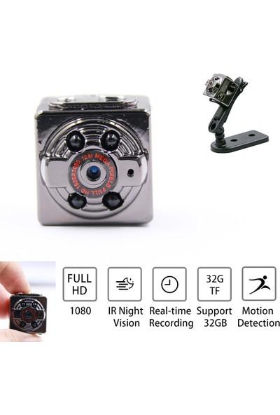 Blue İnter Sq8 Mini Dv Kamera(32 GB Sd Kart DAHİL)1080P Full Hd Aksiyon/araç Dvr