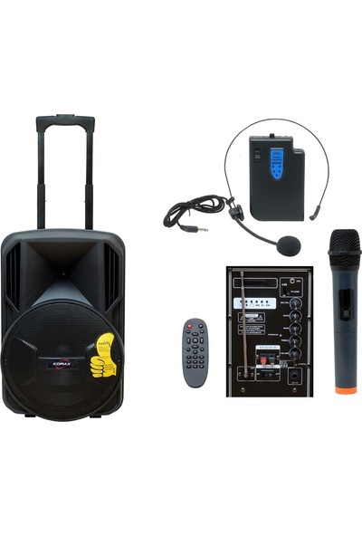 Korax Hitech HT-1230 Taşınabilir Hoparlör