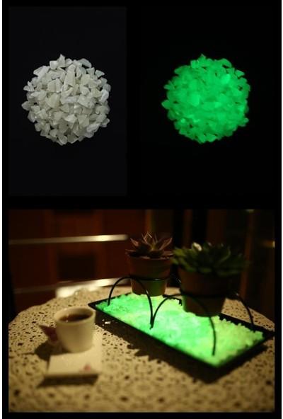 Arge-Kimya Glow In The Dark Stones GREEN_01 (12-20MM/50GR) /karanlıkta Parlayan Taşlar YEŞIL_01