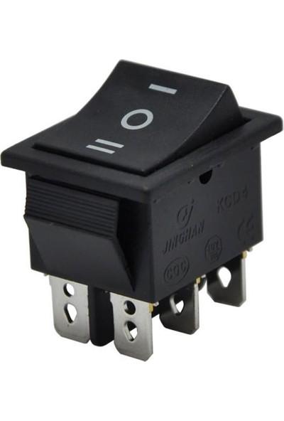 Motorobit Kcd4 On-Off-On Üç Konumlu Işıksız Anahtar IC-108