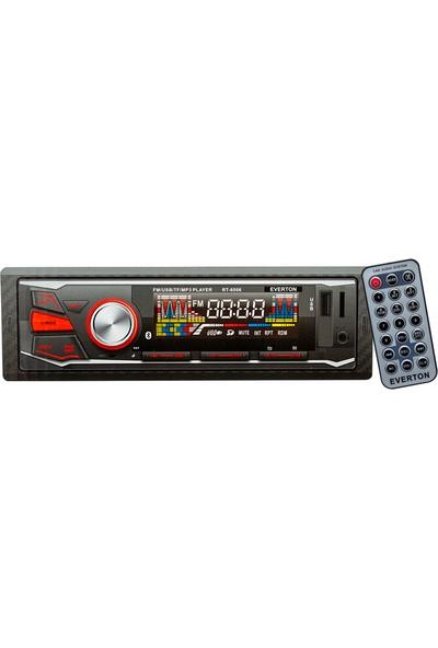 Everton RT-6006 Usb/sd/fm/aux/bt Bluetoothlu Mekaniksiz Oto Teyp 4 x 50 Watt