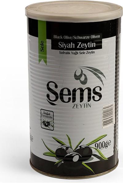 Şems 291-320 Kalibre Süper Özel Siyah Zeytin 900 gr