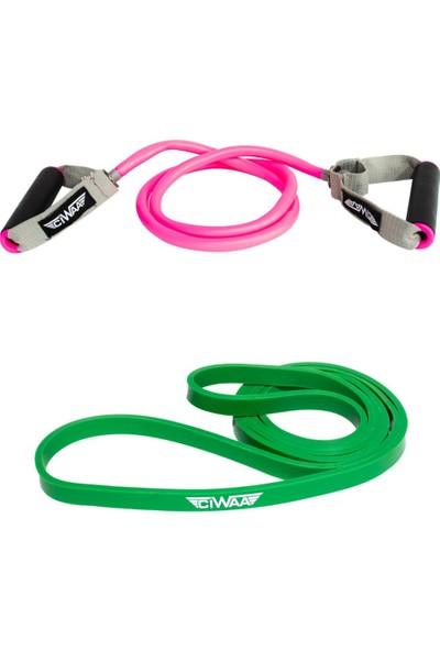 Ciwaa CWA-2145 Pilates Egzersiz Güç Seti 3 Lü Takım