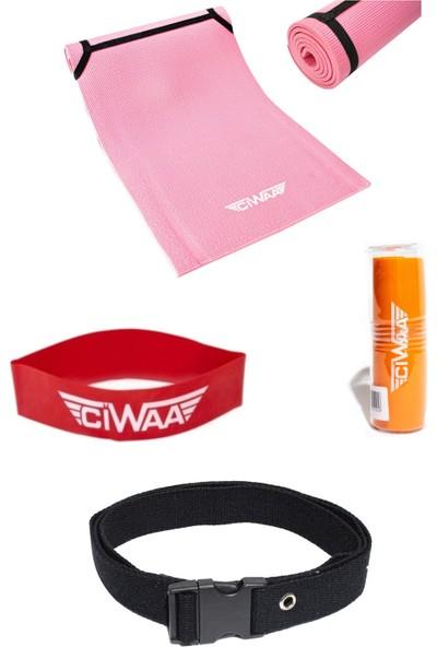 Ciwaa CWA-2151 Pilates Mat Seti 4 Lü Takım