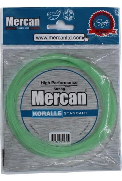 Mercan Koralle Standart 100 M 1,20 mm Yeşil Poşet MisinaMercan ( 1 X 3 Adet )
