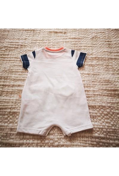 Baby Dido Erkek Yazlık Pamuklu Alttan Çıtçıtlı Tulum