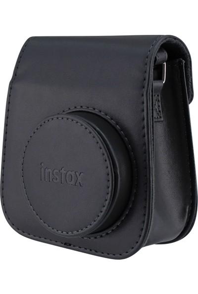 Fujifilm Instax Mini 11 Çizgili Laporta Albümlü Siyah Kit
