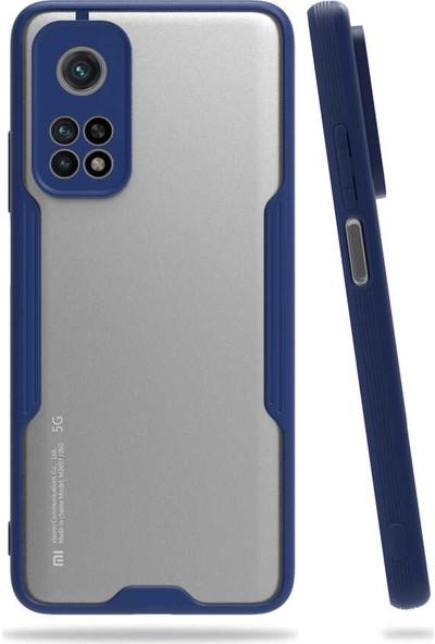 Fibaks Xiaomi Mi 10T Pro 5g Kılıf Mat Parmak Izi Yapmaz Kamera Korumalı Ultra Ince Silikon