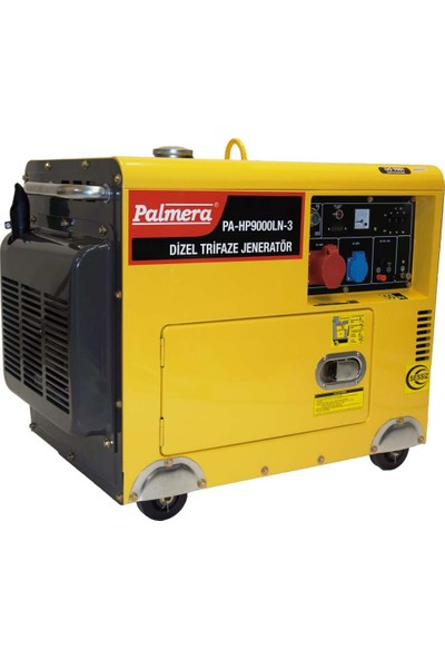 Palmera PA-HP9000LN-3 Dizel Trifaze Kabinli Jenaratör 9 Kw