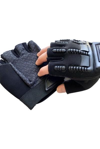 Mechanixwear Mechanix Tactical Operasyon Spor Eldiveni Yarım Parmak Korumalı Taktik ve Motorsiklet Eldiven