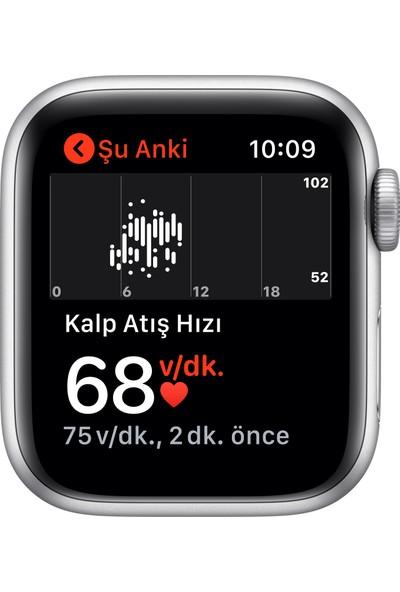 Apple Watch SE 40mm GPS Silver Alüminyum Kasa ve Beyaz Spor Kordon MYDM2TU/A