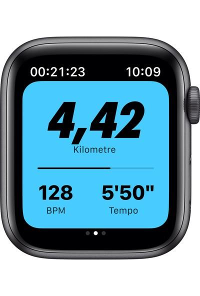 Apple Watch Nike SE 44mm GPS Space Gray Alüminyum Kasa ve Anthracite/Siyah Nike Spor Kordon MYYK2TU/A