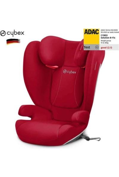 Cybex Adac'lı Solution B Fix (15-36 kg) Latch Oto Koltuğu - Dynamic Red
