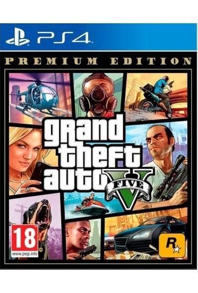 Rockstar Games Gta 5 Premium Edition Playstation 4 Oyun