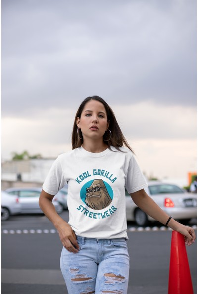 Grif Kool Baskılı Kadın T-Shirt