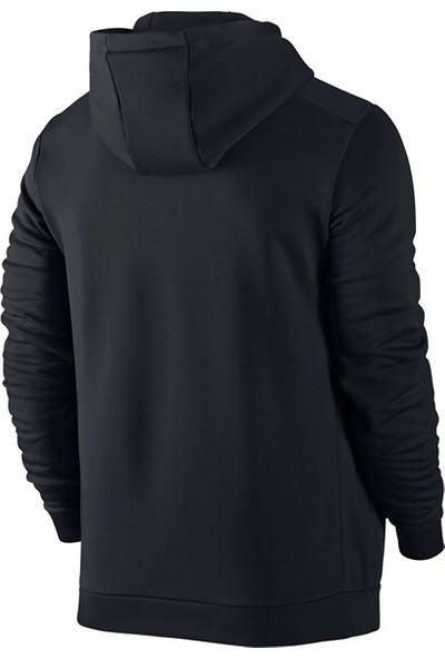Poseidon Storm Büyük Beden Erkek Siyah Günlük Sweatshirt 3XL-10XL Önü Lacivert Cepli M4