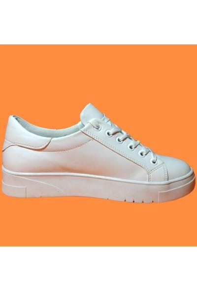 Endless Beyaz Tabanlı Spor Endless Kadın Ayakkabı