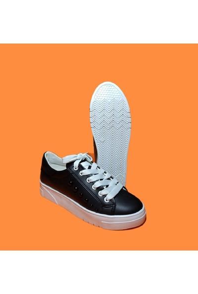 Endless Boncuklu Beyaz Taban Spor Endless Kadın Ayakkabı
