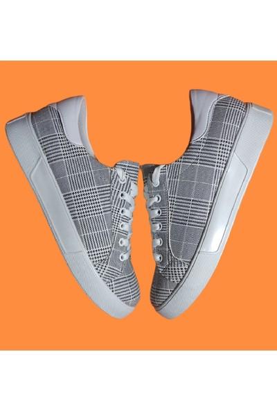 Endless Gri Beyaz Tabanlı Endless Ayakkabı
