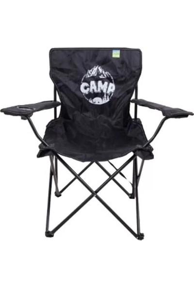 Upland Stark Camp Kamp Sandalyesi Siyah