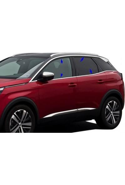 Brs Peugeot 301 Cam Çıtası 6 Parça Krom (2012 - 2020)