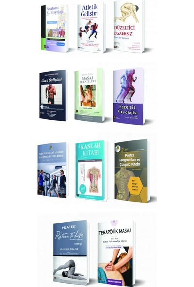 Istanbul Tıp Kitabevi Spor Bilimleri Seti