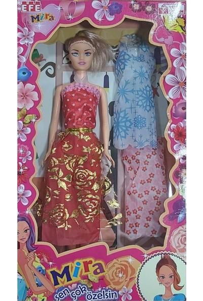 Efe Oyuncak 228A Trend Mira 3 Lü Elbise Bebek