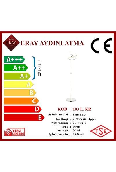 Eray Aydınlatma 103 Krom LED Lambader