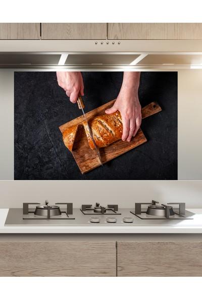 Sim Tasarım - SIM97- Mutfak Ocak Arkası Sticker - Ekmek