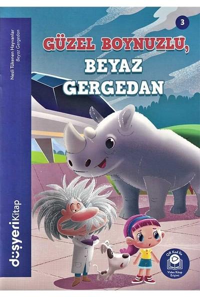 Düşyeri Yayınları - Güzel Boynuzlu Beyaz Gergedan - Nesli Tükenen Hayvanlar