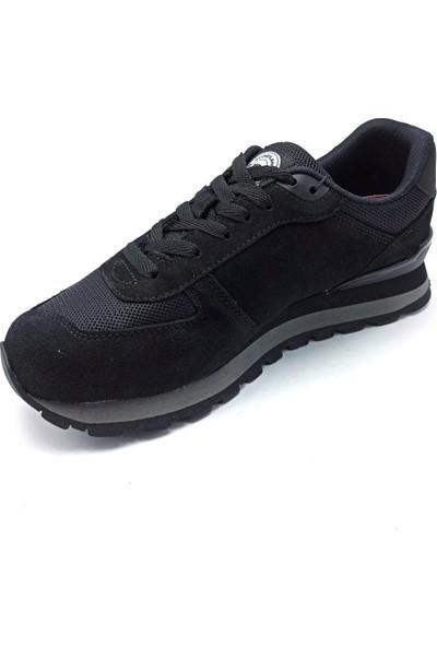 Scoodland Siyah Sneaker Erkek Spor Ayakkabı