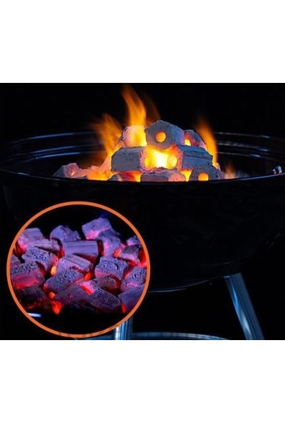 Bio Briket Ekolojik Piknik Mangal Kömürü 4 kg