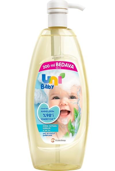 Uni Baby Saç ve Vücut Şampuan 900 ml
