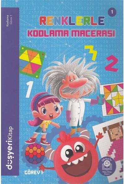 Düşyeri Yayınları - Renklerle Kodlama Macerası 1