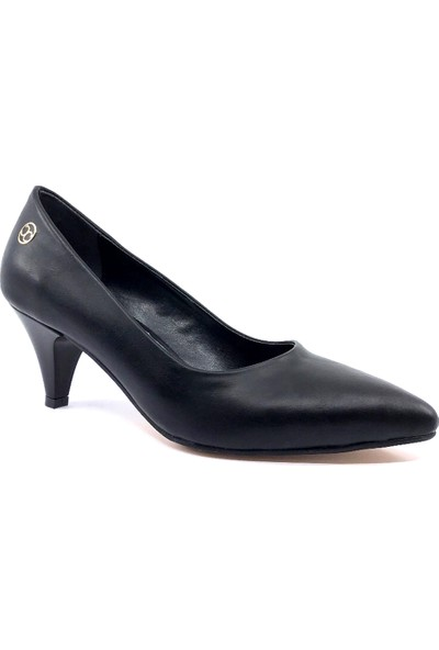 Ayakkabımood cc Siyah Sitiletto Rahat Günlük Bayan Ayakkabısı