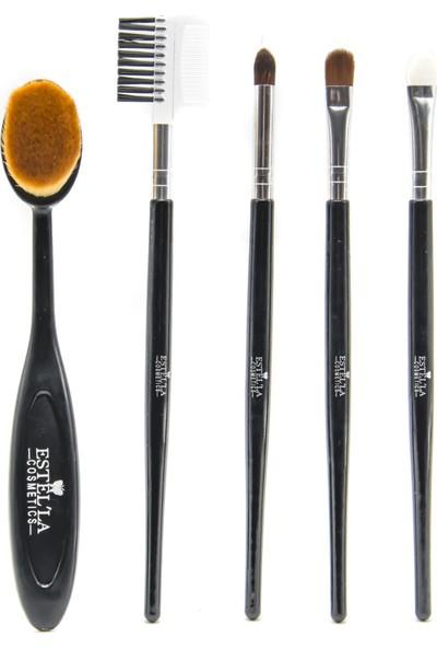 Estella 5 In 1 Kaşık Fırça Seti Siyah