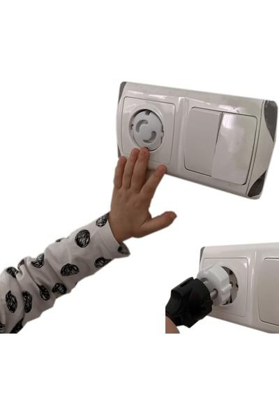 Ketbox Çocuk Bebek Güvenlik Emniyet Seti 5 Çekmece Dolap Kilidi 4 Köşe Koruyucu 6 Priz Koruyucu