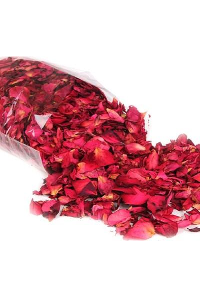 Hediye Filesi 150 Adet Kuru Gül Yaprağı, Romantik Süsleme Gül Yaprakları 1 Paket
