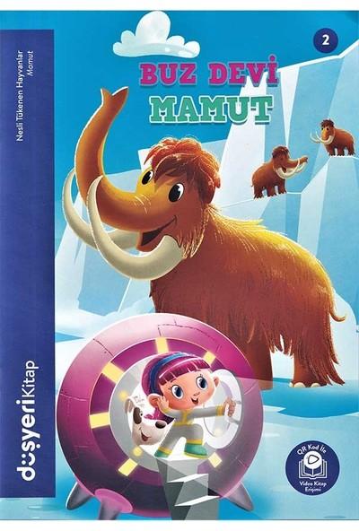 Düşyeri Yayınları - Buz Devi Mamut - Nesli Tükenen Hayvanlar
