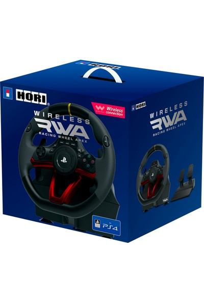 Hori Wireless Racing Wheel Apex Sony Lisanslı Direksiyon Seti Playstation 5/ Playstation 4 Pc Uyumlu