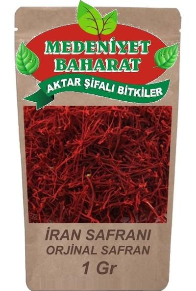 Medeniyet Baharat Iran Safranı 1 gr