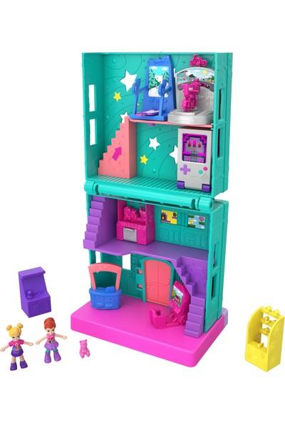 Polly Pocket Pollyville Mağazaları Oyun Salonu (GFP41)