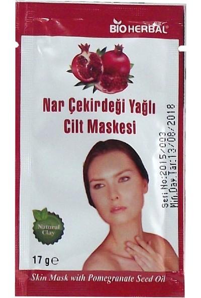 Bioherbal Nar Çekirdek Yağ Özlü Kil Maskesi 3 x 15 gr