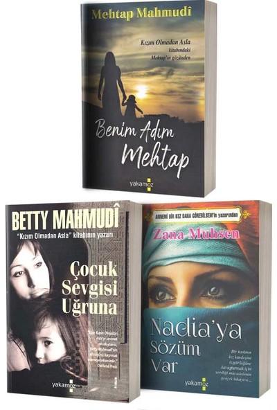 Yakamoz Yayınları Benim Adım Mehtap, Çocuk Sevgisi Uğruna ve Nadia' Ya Sözüm Var - 3 Kitap