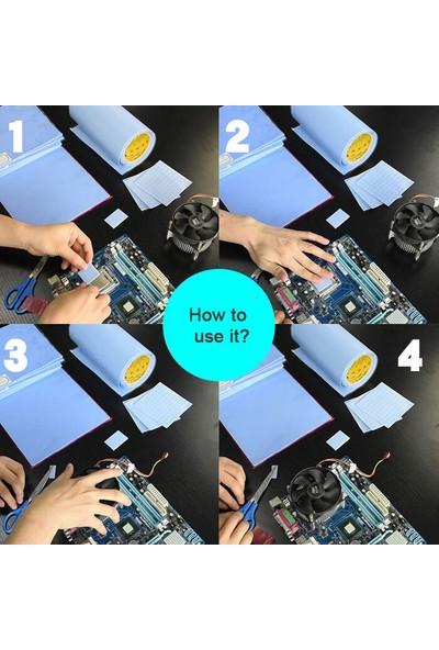 Wozlo 3.0MM*100*100MM Chipset Soğutucu Termal Pad Ped
